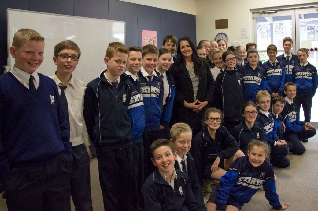 Melinda Tankard Reist speaks to St Peters Blackwood Students