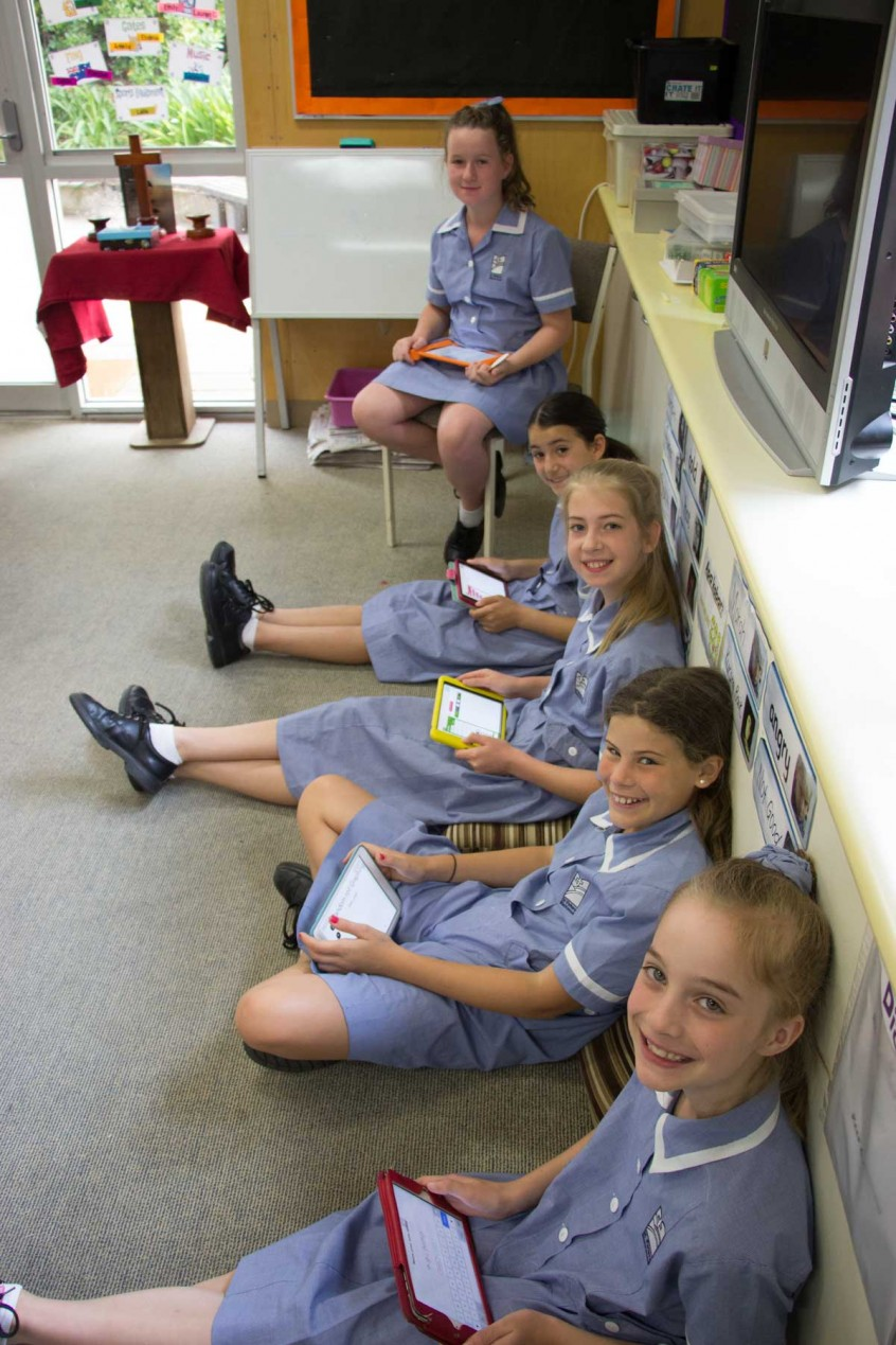 Technology in the classroom St Peters Blackwood
